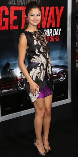 """Selena Gomez at """"Getaway"""" - Los Angeles Premiere Held at Regency Village Theatre - 26 August 2013"""