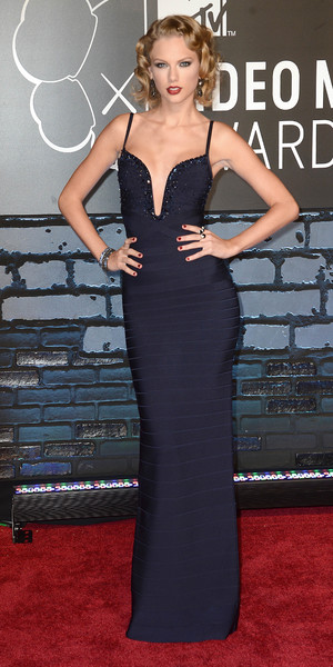 Taylor Swift arrives at MTV Video Music Awards 2013
