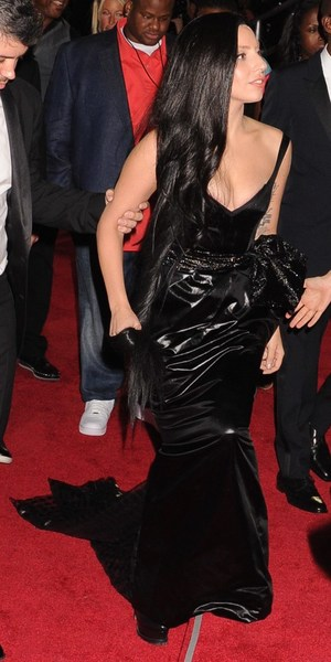 Lady Gaga arrives at MTV Video Music Awards 2013