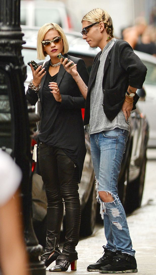 Rita Ora out and about, New York, America - 28 Aug 2013
