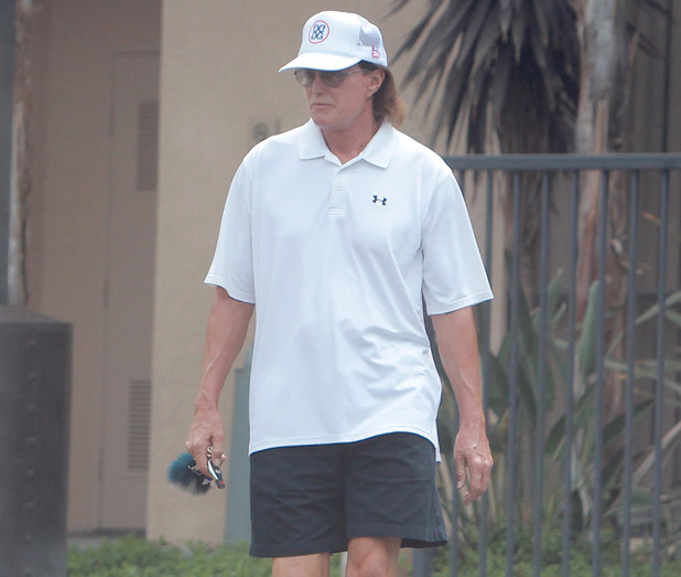 Bruce Jenner heads to the gym - 27 August 2013