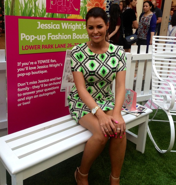 Jessica Wright launched new pop-up shop in Sheffield's Meadowhall