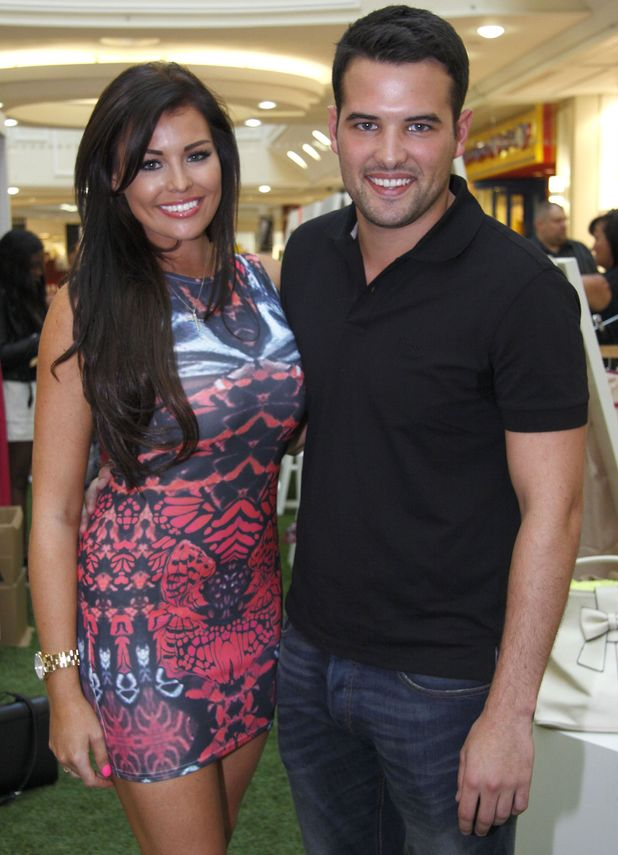 Jessica Wright and Ricky Rayment at Meadowhall shopping centre - 28 August 2013