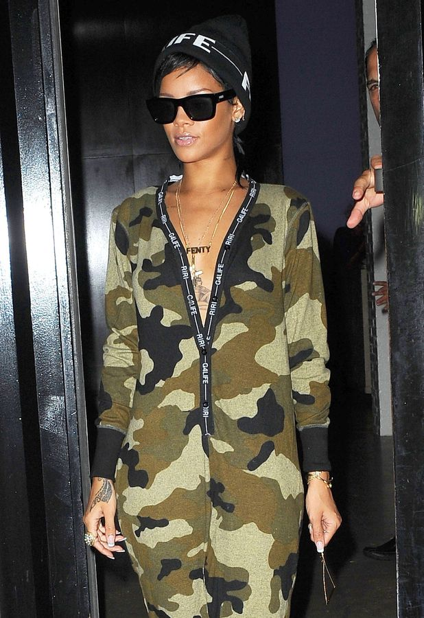 Rihanna out and about, New York, America - 27 Aug 2013
