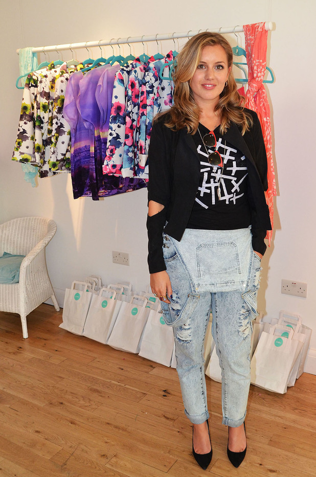 Iswai Pop-Up Shop Launch hosted by Caggie Dunlop, London, Britain - 28 Aug 2013