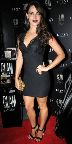 Jessica Lowndes, Celebrities attend the Lipsy 'Glam' fragrance launch held at the Cumberland hotel, 29 August 2013