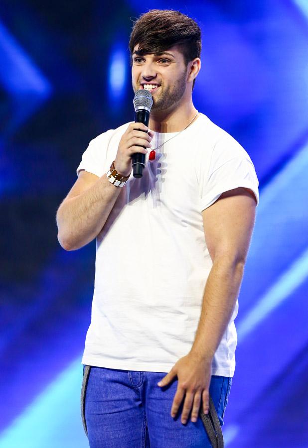 X Factor 2013 hopefuls. Day 3 of X Factor Wembley Arena auditions. John Adams
