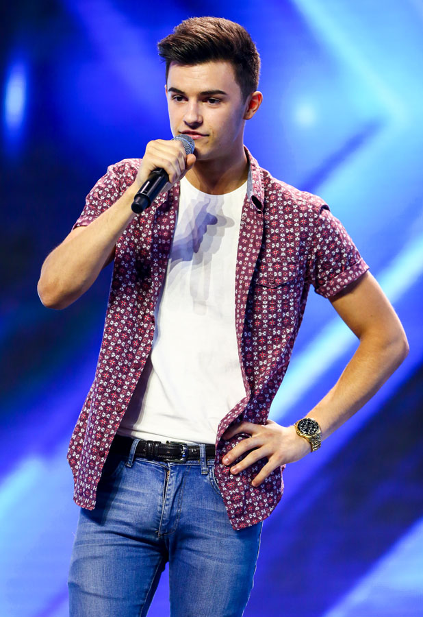 X Factor 2013 hopefuls. Day 3 of X Factor Wembley Arena auditions. Tommy Miller