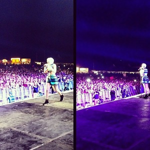 Jessie J at Sundown festival - 1 September 2013