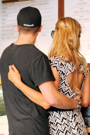 Paris Hilton and River Viiperi out and about, Los Angeles, America - 05 Sep 2013