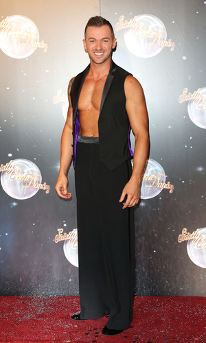 Artem Chigvintsev at the launch of Strictly Come Dancing 2012