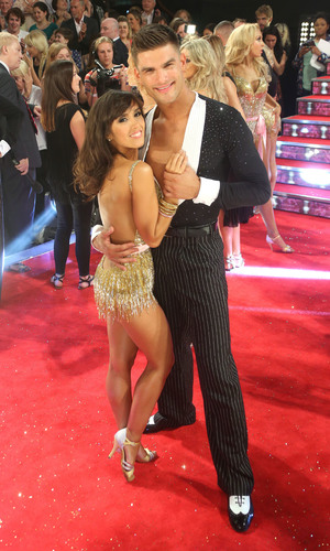 Janette Manrara and Aljaz Skorjanec at the Strictly Come Dancing launch, September 2013
