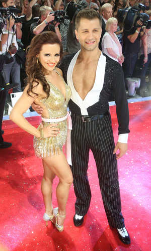 Pasha Kovalev and Anya Garnis at the Strictly Come Dancing launch, 2013