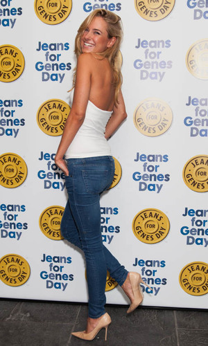 Jeans for Genes 2013 party at the Jewel Bar PersonInImage:  Kimberley Garner Credit : James Shaw/WENN.com Date Created : 09/03/2013 Location : London, United Kingdom