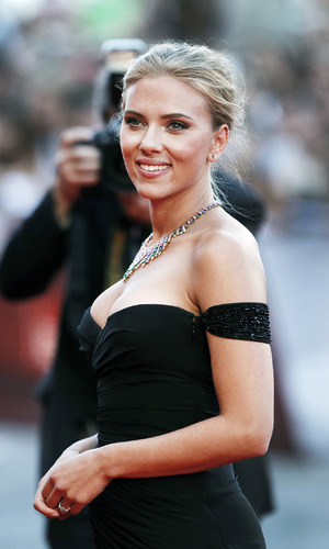 Scarlett Johansson on the red carpet at the Venice Film Fesitval - Italy 3rd September 2013