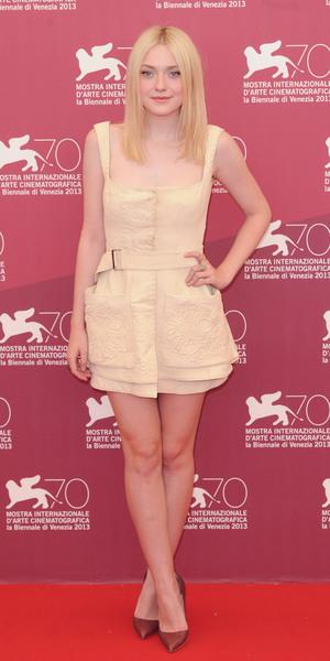 Dakota Fanning Venice Film Festival 2013