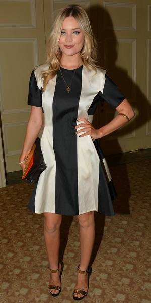Laura Whitmore at the Brown Thomas Autumn Winter 2013 collections at the annual ISPCC luncheon at The Four Seasons Hotel - Ireland 6th September 2013