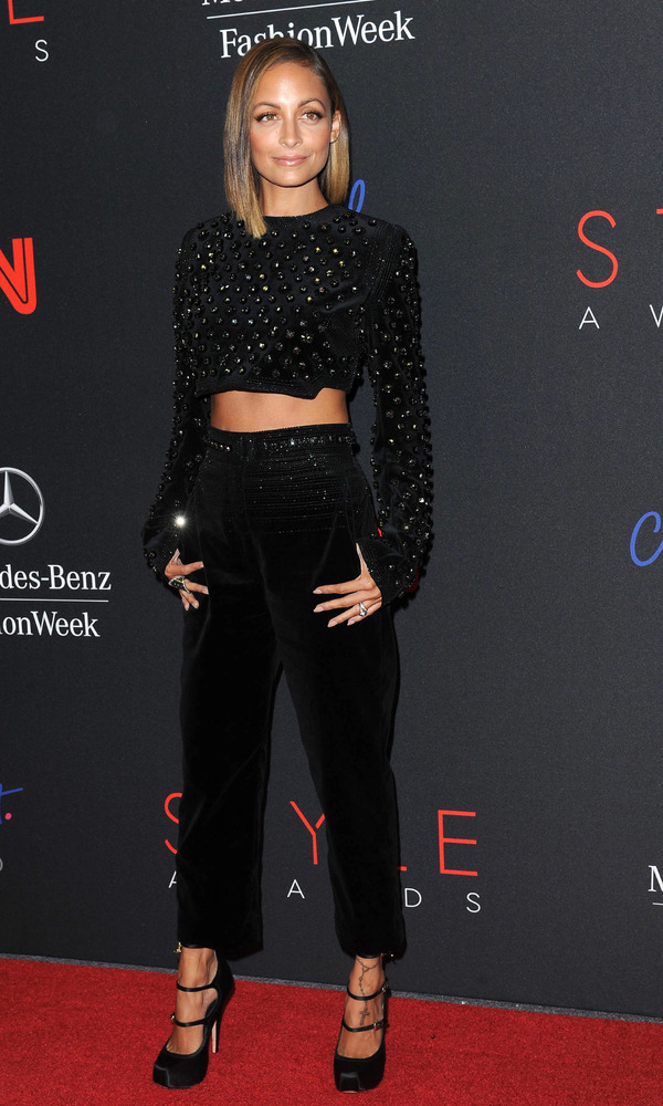 Nicole Richie at 10th annual Style Awards during Mercedes Benz Fashion Week Spring 2014 at the Lincoln Center