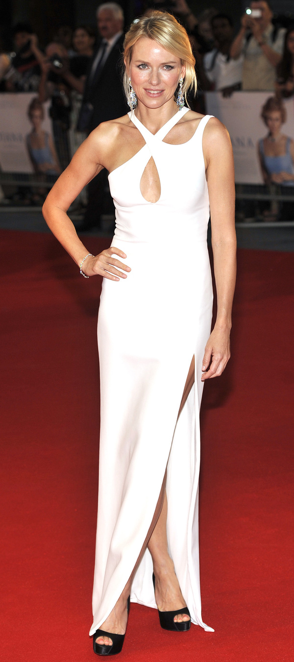 Naomi Watts on the red carpet at the Diana world premiere - London 5th September 2013