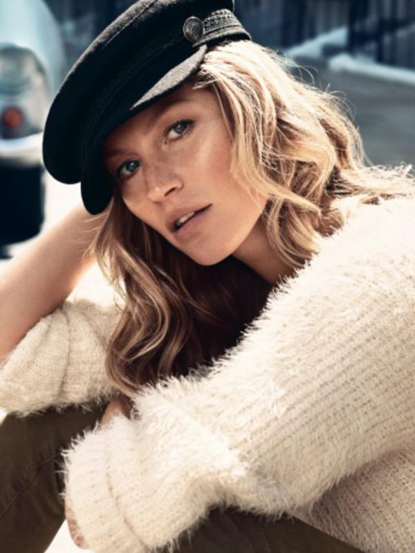 Gisele Bundchen models H&M autumn campaign