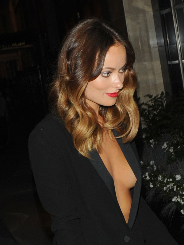 Olivia Wilde outside her hotel after the Rush premiere - London, 2nd September 2013