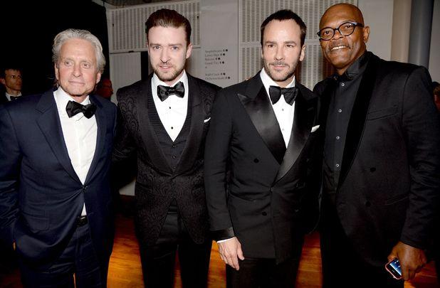 GQ Men of the Year Awards, Royal Opera House, London, Britain - 03 Sept 2013 Justin Timberlake, Samuel L Jackson, Tom Ford, Michael Douglas