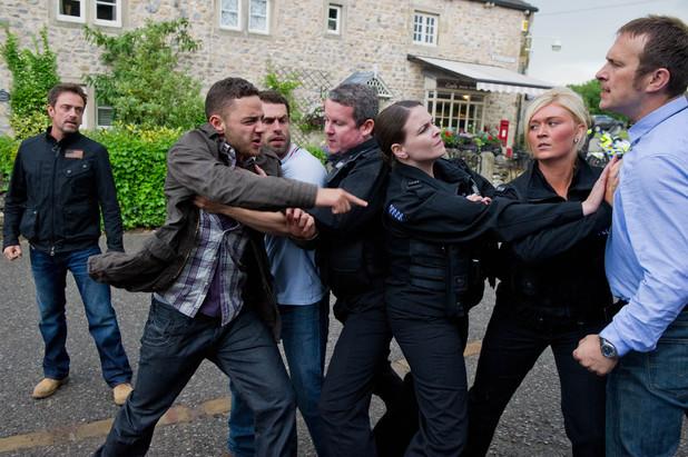 Emmerdale, Adam is arrested, Wed 4 Sep