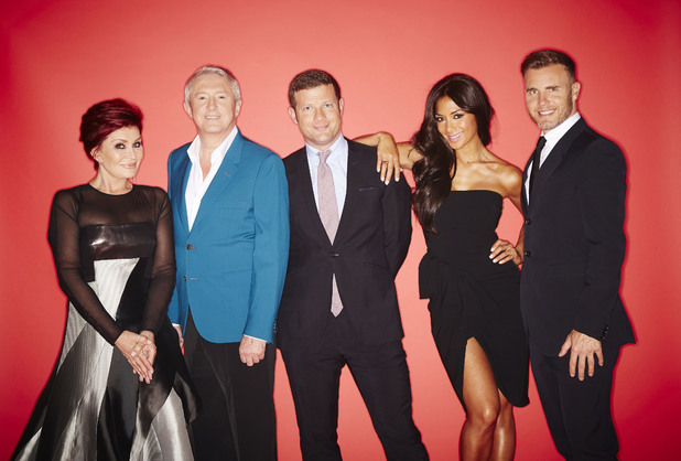 The X Factor, Gary Barlow, Sharon Osbourne, Nicole Scherzinger and Louis Walsh, Dermot O'Leary, Sat 7 Sep