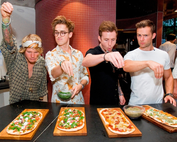 McFly launch ASK Italian Grand Tour - 6 August 2013