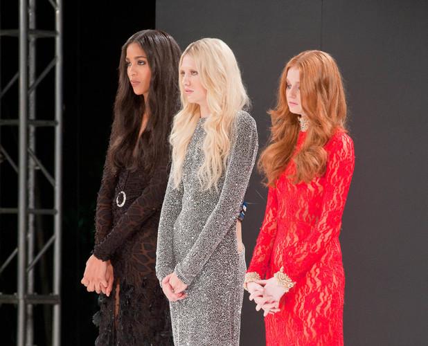 Emma Ward, Lauren Lambert, Sarah Kennedy on Britain & Ireland's Next Top Model - 2013