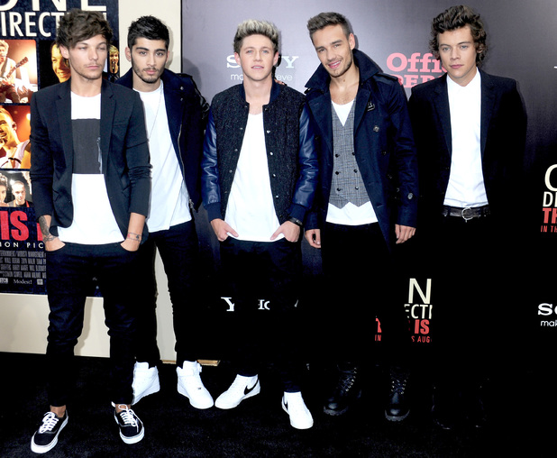 'One Direction: This Is Us' New York premiere at the Ziegfeld Theater, New York, US - Arrivals