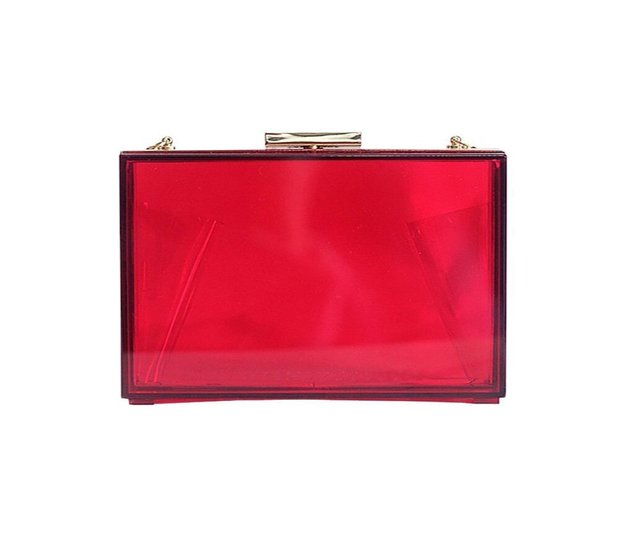 Amazon red clutch £19.98