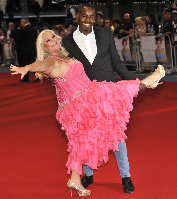 Vanessa Feltz on red carpet at 'Diana' World Premiere held at the Odeon Leicester Square - Arrivals - 5 September 2013