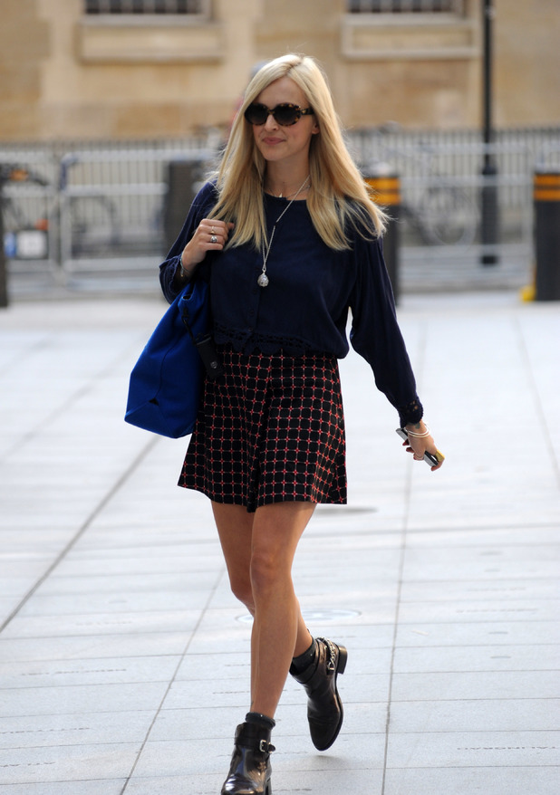 Fearne Cotton on her 3rd day back at Radio 1