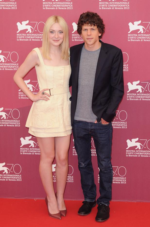 Dakota Fanning and Jesse Eisenberg Venice Film Festival 2013