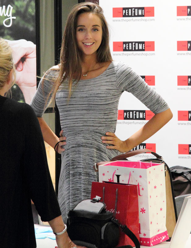 Peter Andre is joined by pregnant girlfriend, Emily MacDonagh and brother, Michael Andre at his 'Forever Young' and 'Forever' fragrance signing at The Potteries shopping centre, Stoke-on-Trent, Staffordshire, September 2013