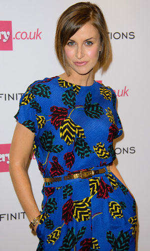 Katherine Kelly, Very.co.uk launch party introducing the new fashion brand Definitions at Somerset House, 4 September 2013