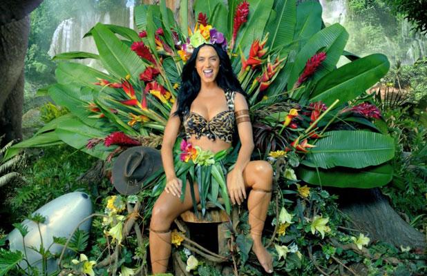 Katy Perry in her Roar music video, September 2013