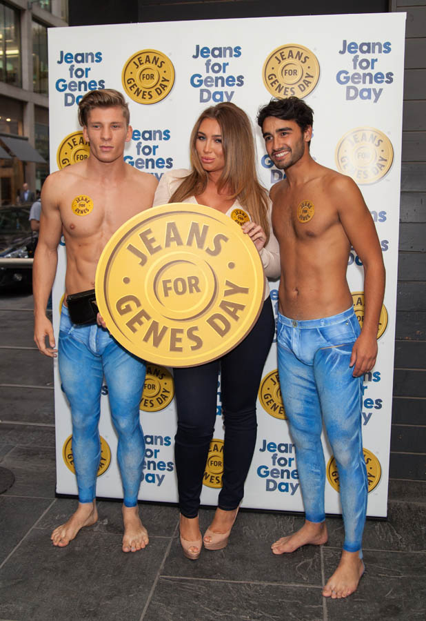 Jeans for Genes 2013 party at the Jewel Bar PersonInImage:	Lauren Goodger Credit :	James Shaw/WENN.com Date Created :	09/03/2013 Location :	London, United Kingdom