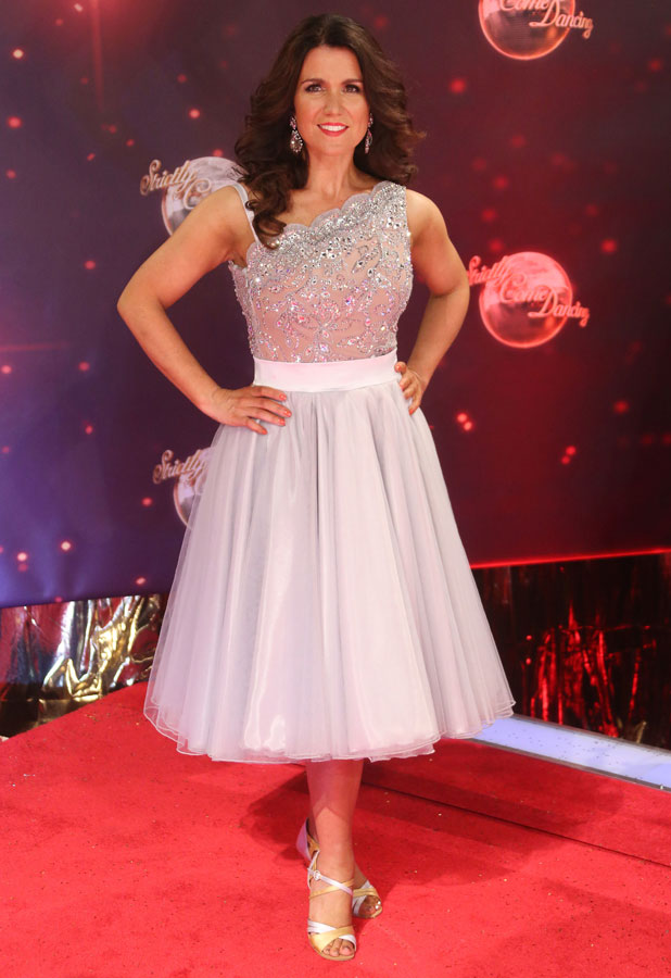Strictly Come Dancing red carpet launch event held at Elstree studios - Arrivals - Susanna Reid 2013