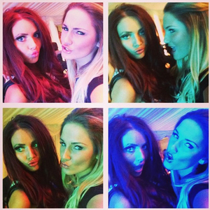 The Hayward's 20th anniversary event on Saturday (7 September) Sam Faiers and Amy Childs