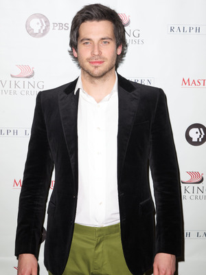 Rob James-Collier at the Downton Abbey season 3 photocall in New York, 12.12.12