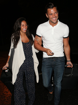 Mark Wright and Michelle Keegan show off the engagement ring for the first timeEXCLUSIVE ONE TIME USE ONLY IMAGES IN REVEAL. NOT TO FEATURE ONLINE UNTIL SEPTEMBER 17