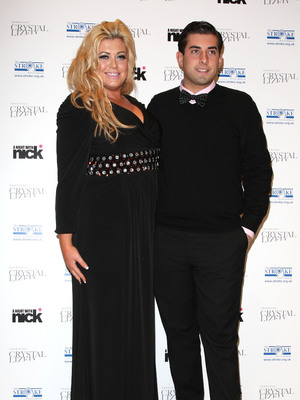 Gemma Collins and James Arg Argent, a night with Nick in aid of The Stroke Associaton held at Swarovski, 6 December, 2011