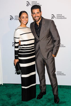 The Novak Djokovic Foundation New York Dinner - Arrivals Jesse Metcalfe, Cara Santana - 10.9.2013
