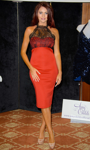 Amy Childs launches her Autumn/Winter range for Amy Childs collection - 11 September 2013