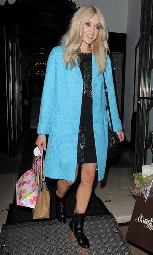 Fearne Cotton leaving Claridges with boyfriend Jesse Wood after her very.co.uk catwalk show Person In Image:	Fearne Cotton Credit : Karl Piper/WENN