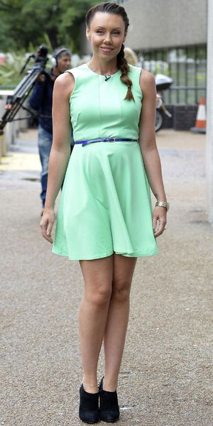 Celebrities outside ITV studios, London, Britain - 13 Sep 2013 Michelle Heaton