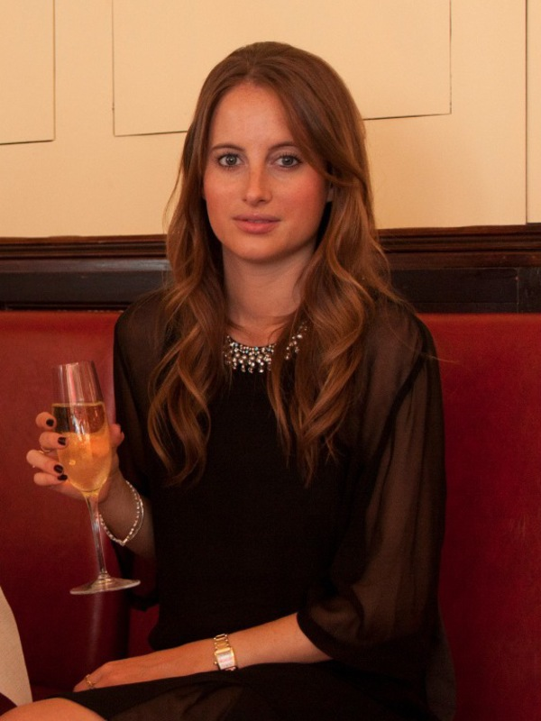 Rosie Fortescue at the launch of her range of mobile and tablet accessories for Covert
