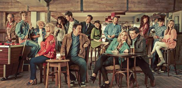 Mount Plesant, Sky Living, full cast shot, Wed 11 Sep